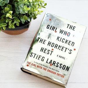 Novel Girl Kicked Hornets Nest Book Stieg Larsson